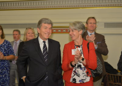Senator Roy Blunt and Mary Kusler