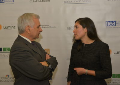 Senator Jack Reed and CEF President Jocelyn Bissonnette