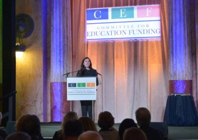 CEF President Jocelyn Bissonnette