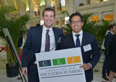 CEF Staffers Owen Reilly and Jonathan Widjaja